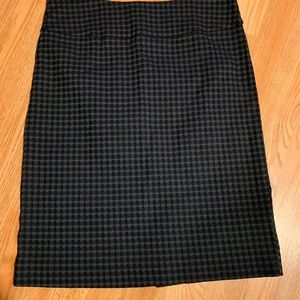 Women's skirt with split in the back